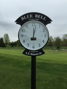 Golf Course Clock
