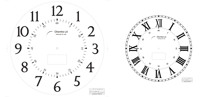 Arabic-Post-Clock
