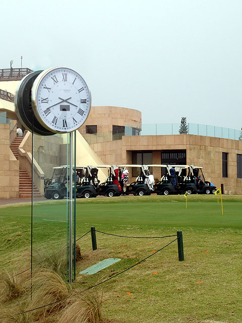 Custom Golf Course Clocks
