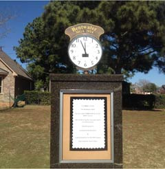 Custom Golf Clock